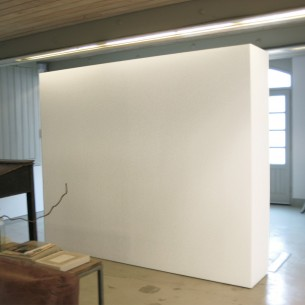SALE Mobile gallery wall with storage