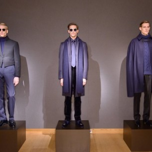 Gieves and Hawkes X artplinths