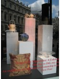 Fortnum and Mason X artplinths