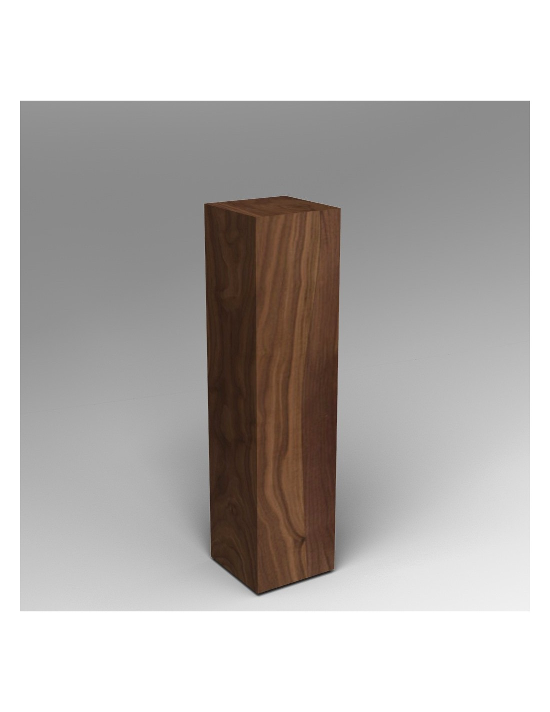 Dark Wood Plinth
