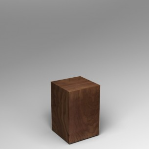 Walnut Plinth 60H x 40W x 40D SALE