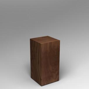Walnut Plinth 80H x 40W x 40D SALE