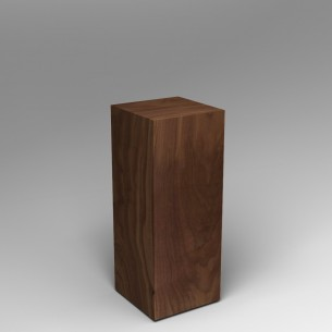 Walnut Plinth 100H x 40W x 40D SALE