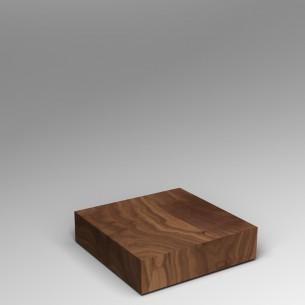 Walnut Plinth 20H x 80W x 80D SALE