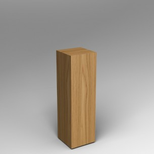 Oak Plinth 100H x 30W x 30D SALE