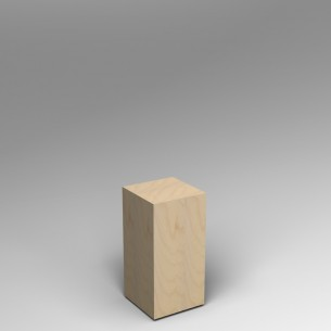 Birch Ply Plinth 60H x 30W x 30D SALE
