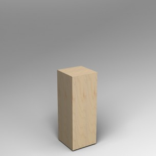 Birch Ply Plinth 80H x 30W x 30D SALE