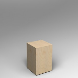 Birch Ply Plinth 60H x 40W x 40D SALE