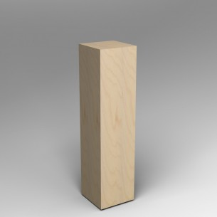 Birch Ply Plinth 120H x 30W x 30D SALE
