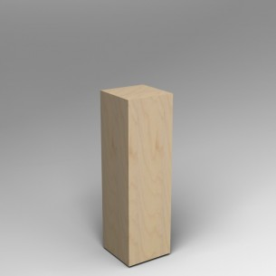 Birch Ply Plinth 100H x 30W x 30D SALE