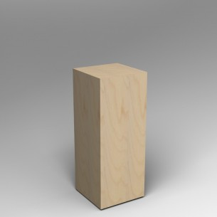 Birch Ply Plinth 100 H x 40W x 40D cm SALE