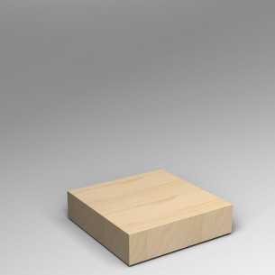 Birch Ply Plinth 20H x 80W x 80D cm SALE