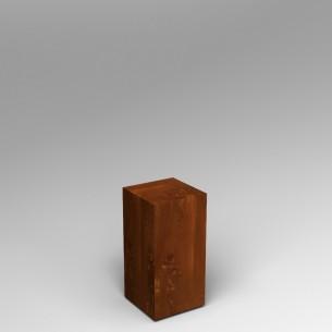 Sapele (Mahogany) Plinth 60H x 30W x 30D SALE