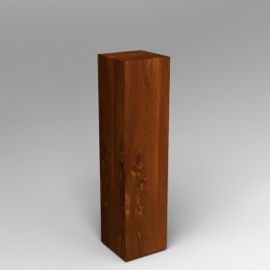 Sapele (Mahogany) Plinth 120H x 30W x 30D SALE