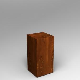 Sapele (Mahogany) plinth 80H x 40W x 40D SALE