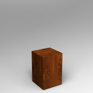 Sapele (Mahogany) Plinth 60H x 40W x 40D SALE