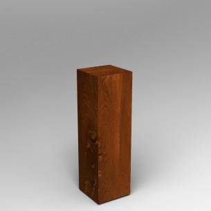 Sapele (Mahogany) Plinth 100H x 30W x 30D SALE