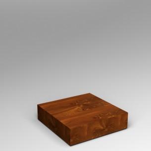 Sapele (Mahogany) Plinth 20H x 80W x 80D SALE