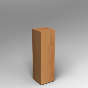 Cherry Plinth 100H x 30W x 30D SALE