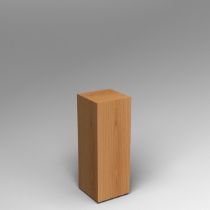 Cherry Plinth 80H x 30W x 30D SALE