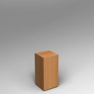 Cherry Plinth  60H x 30W x 30D SALE
