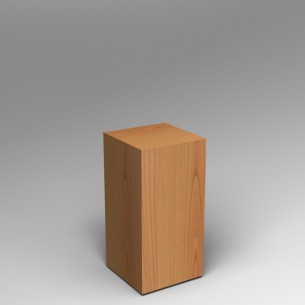 Cherry Plinth  80H x 40W x 40D SALE