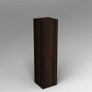Ebony Plinth 120H x 30W x 30D SALE