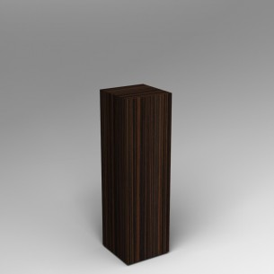Ebony Plinth 100H x 30W x 30D SALE