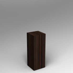 Ebony Plinth 60H x 30W x 30D SALE