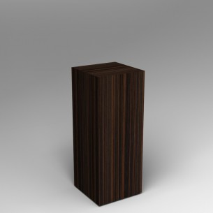 Ebony Plinth 100H x 40W x 40D SALE
