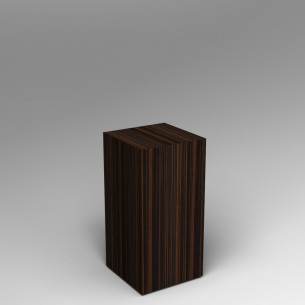 Ebony Plinth 80H x 40W x 40D SALE
