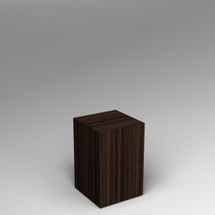 Ebony Plinth 60H x 40W x 40D SALE