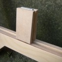 Birch Ply gallery trestles to hire