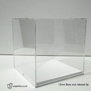 Perspex display case Hire 40cm³