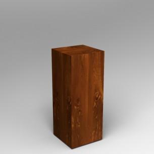 Sapele (Mahogany) Plinth 100H x 40W x 40D SALE