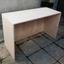 Simple Birch ply gallery desk