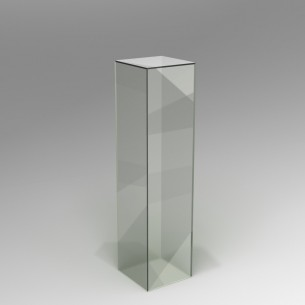 Perspex® Acrylic Plinth 120H x 30W x 30D cm
