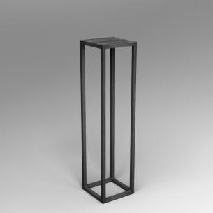 Steel frame plinth 120H x 30W x 30W cm