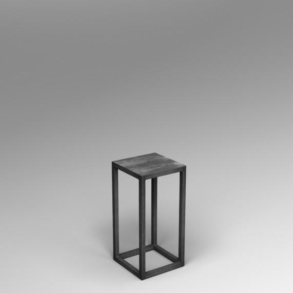 Steel frame plinth 60H x 30W x 30W cm