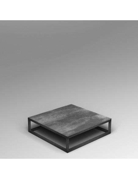 Steel frame plinth 20H x 80W x 80D cm