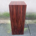 Sapele Veneered Plinth 60H x 30W x 30D cm