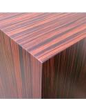 Ebony Hardwood plinth