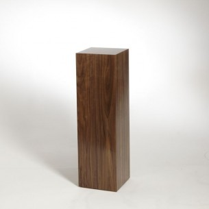 SALE Walnut Plinth 100H x 30W x 30D