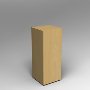 Maple Plinth 100 H x 40W x 40D cm SALE