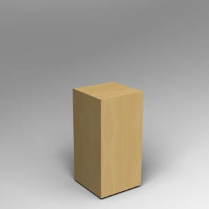 Maple Plinth 80H x 40W x 40D SALE
