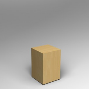Maple Plinth 60 H  x 40 W x 40 D cm SALE