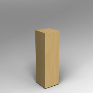 Maple Plinth 100H x 30W x 30D SALE