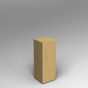 Maple Plinth 80H x 30W x 30D cm SALE