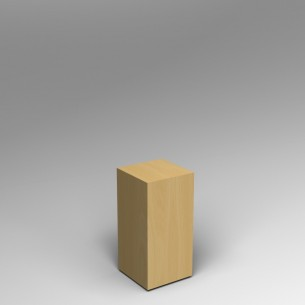 Maple Plinth 60H x 30W x 30D cm SALE
