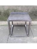 Steel frame plinth 35H x 35W x 35D cm